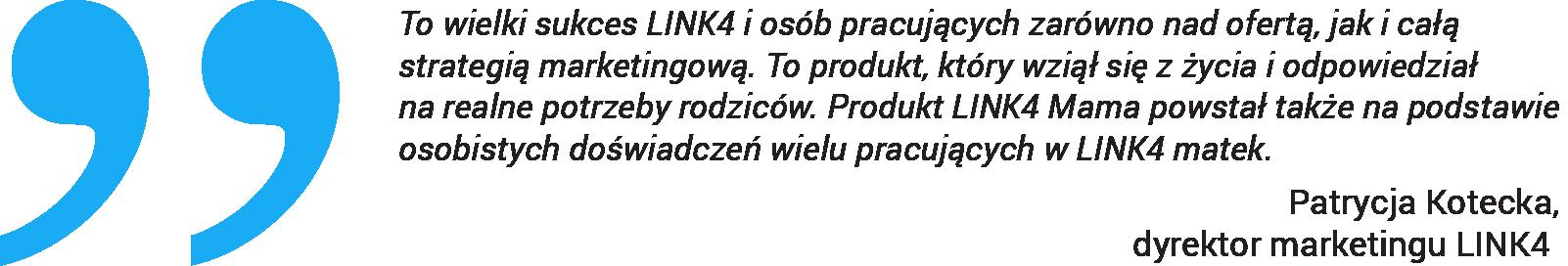 Linia produktów Link4 Mama nagrodzona