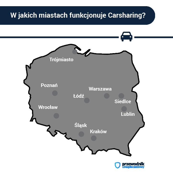 Carsharing - co to jest? O czym trzeba wiedzieć wypożyczając auto?
